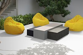 Bloc L3 Coffee Table - In-Situ Image by Blinde Design
