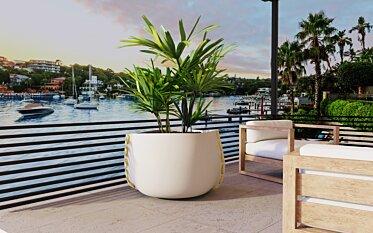 Stitch Plant Pot - Concrete Planters