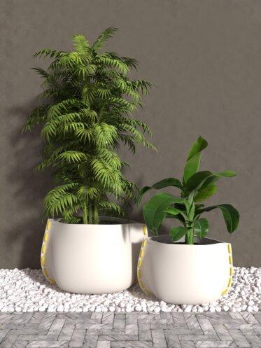 Stitch Plant Pot Collection - Concrete Planters