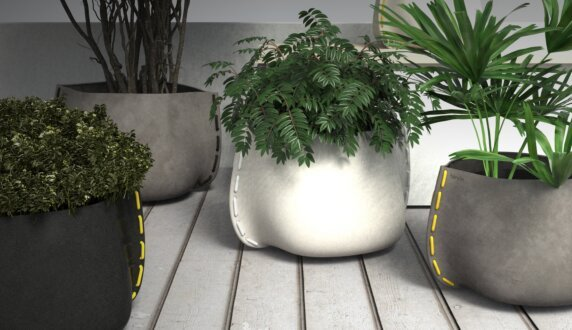 Outdoor Setting Plant Pot Collection - Stitch 100 Planter by Blinde Design