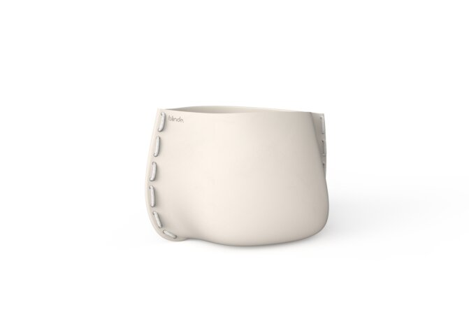 Stitch 50 Planter - Bone / White by Blinde Design