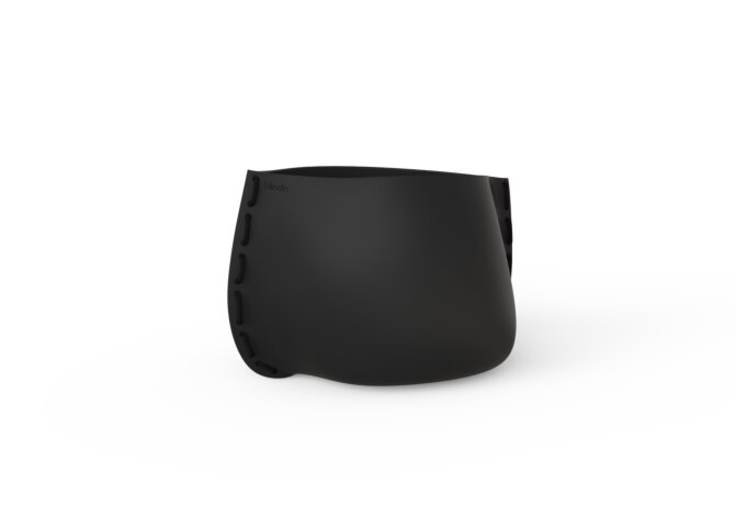 Stitch 50 Planter - Graphite / Black by Blinde Design